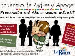 """""""Prevención del Abuso Sexual Infantil"""", conversaremos de un tema complejo, en un ambiente acogedor y de respeto"""