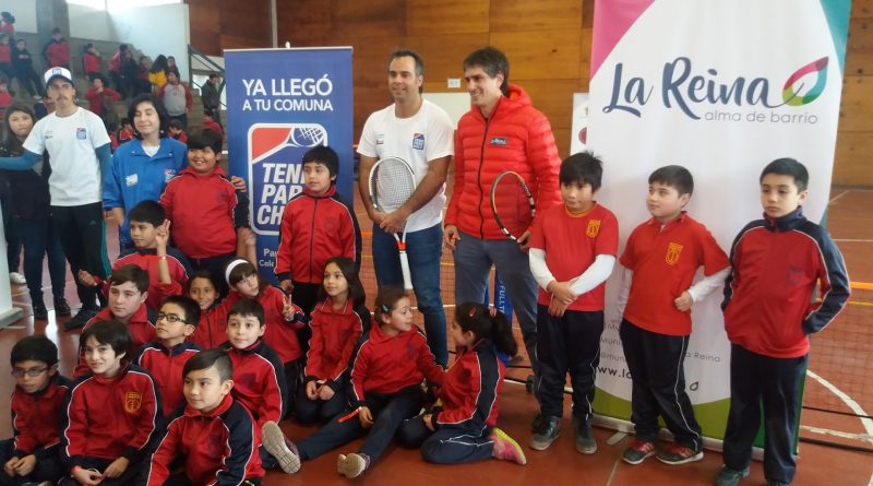 Inauguración Tenis Para Chile en La Reina